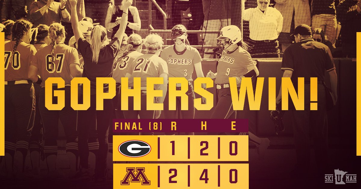 Minnesota Softball's photo on Championship Sunday