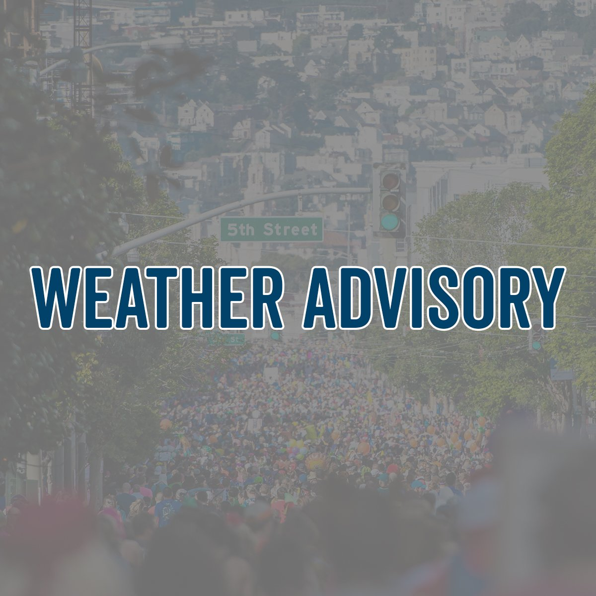 WEATHER ADVISORY -- Please follow the below link for an update on corral entrance opening tomorrow: bit.ly/2JNWfw5