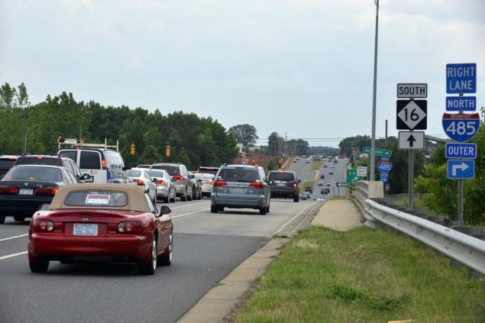Brinks armored truck crashes on Charlotte Interstate