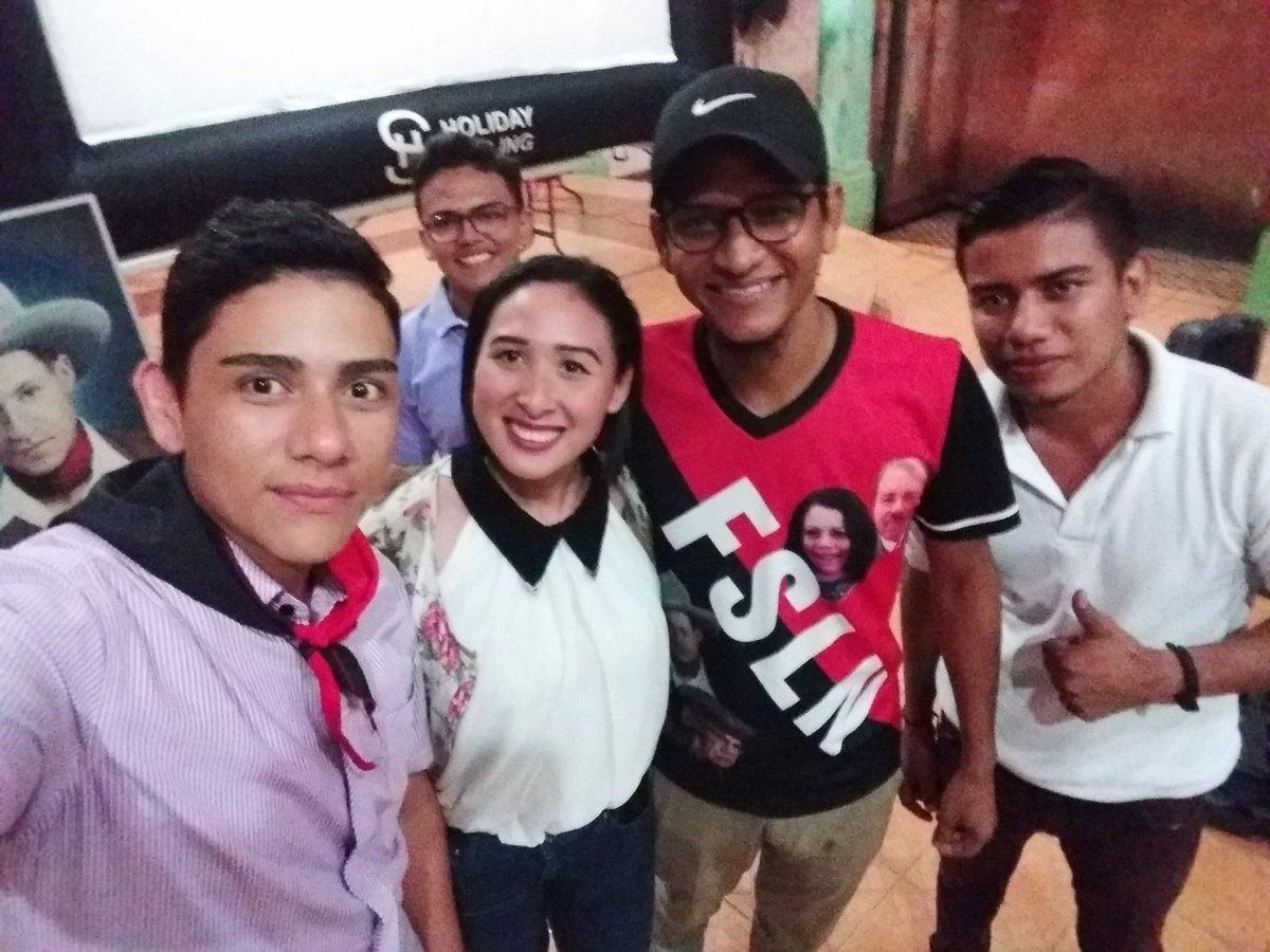 @MarcioVargasA @CinematecaNic @Canal4Ni @LaSandino @ElCuervoNica