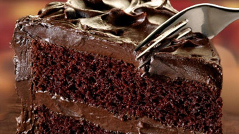 """National Devil's Food Cake Day. First recipe for this American cake appeared in1902 in """"Mrs. Rorer's New Cook Book."""""""