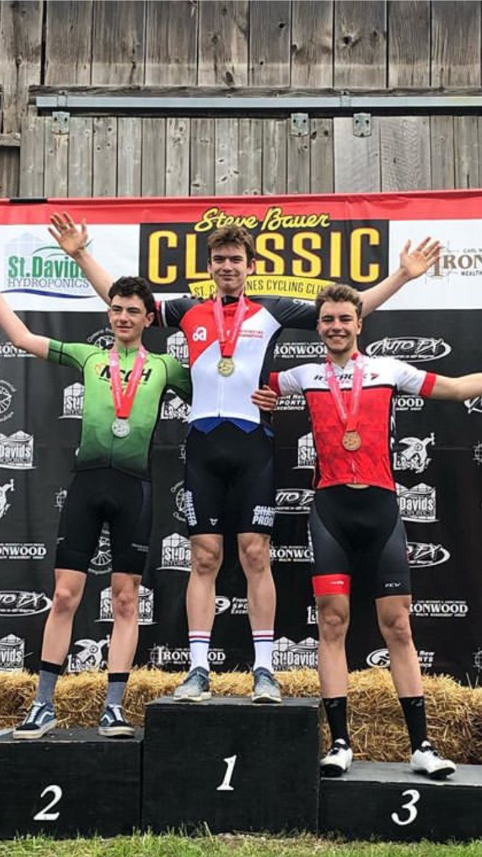 Happy with my result at the Steve Bauer classic / Ontario provincial road race. Legs felt great thanks to the @SkratchLabs and @endurancetap . Numbers stayed aero thanks to Tnr tape and was able to fly up the hills on my awesome @TrekBikes. #ardent<br>http://pic.twitter.com/Ol8jY1qWwQ