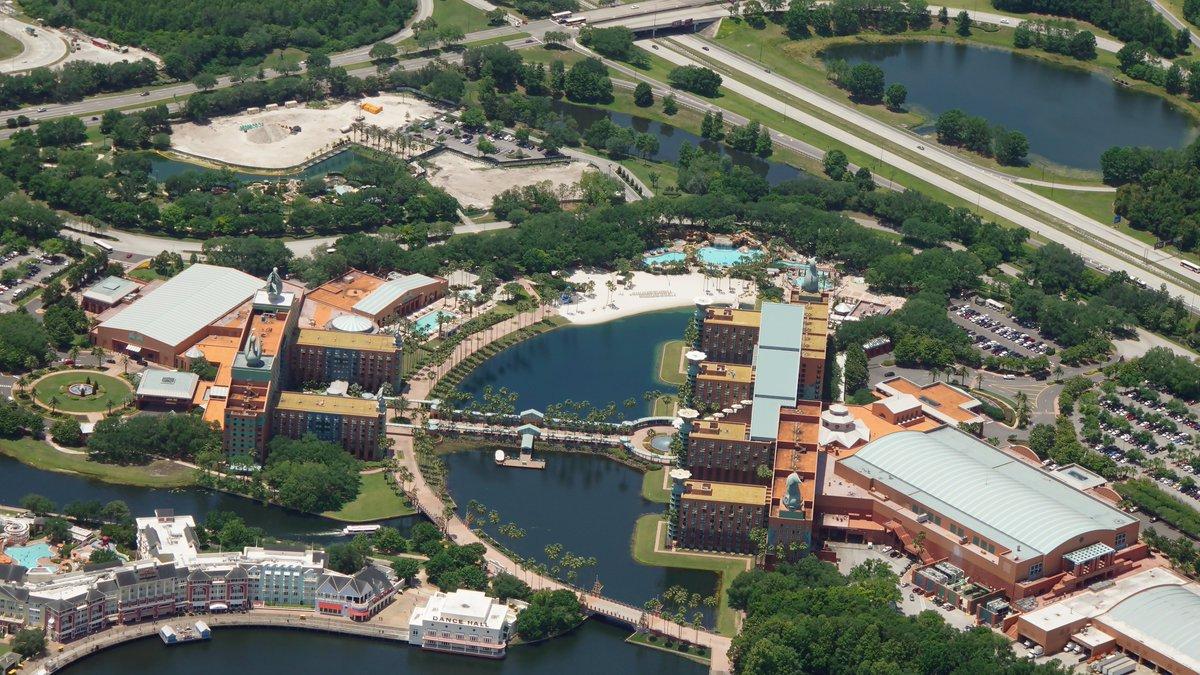 Bioreconstruct On Twitter Aerial View Of Walt Disney World Swan