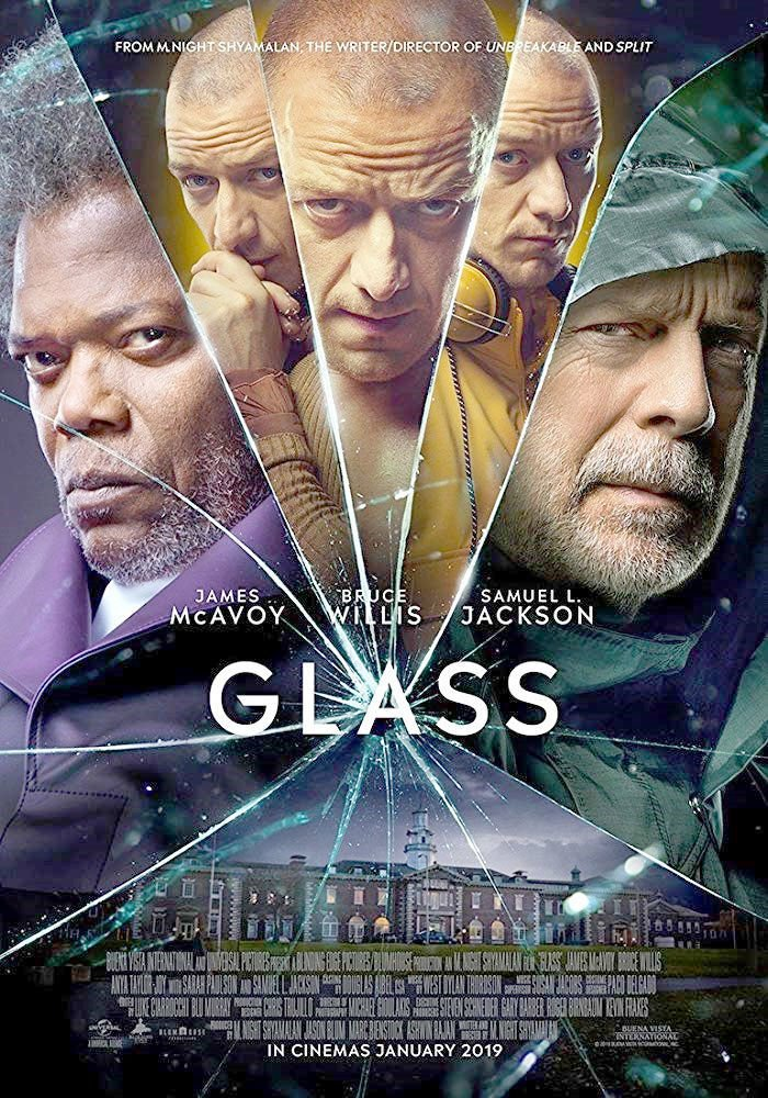 James McAvoy is phenomenal playing a split personality in the trilogy by M. Night Shyamalan: Split and Glass (the 1st movie, Unbreakable, is only with Bruce Willis). McAvoy is so good, he&#39;s scary. #JamesMcAvoy #GlassMovie #SplitMovie<br>http://pic.twitter.com/sPrKl86JIK