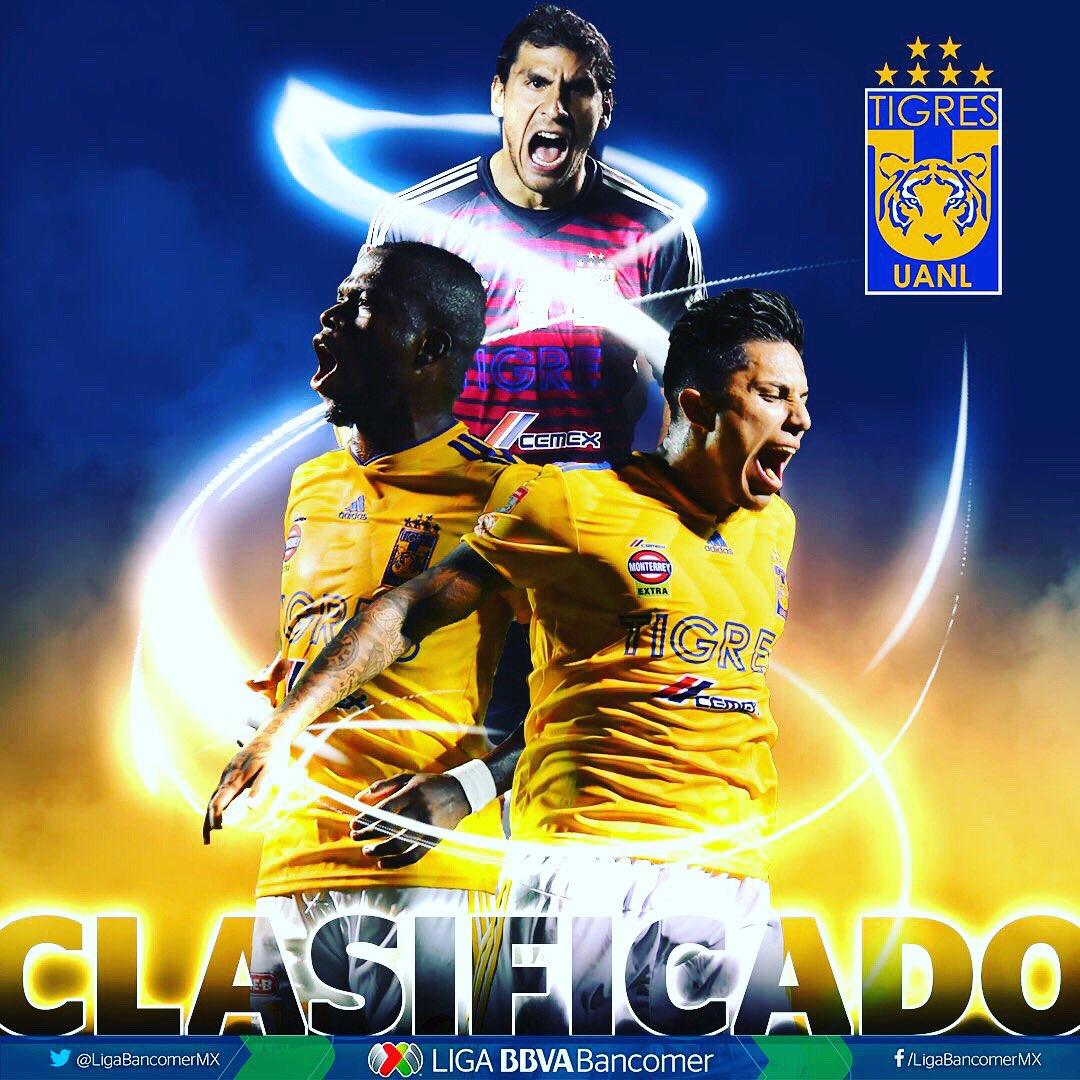 Ya tenemos a @TigresOficial como primer finalista, espera rival entre @clubleonfc y @ClubAmerica #LiguillaW