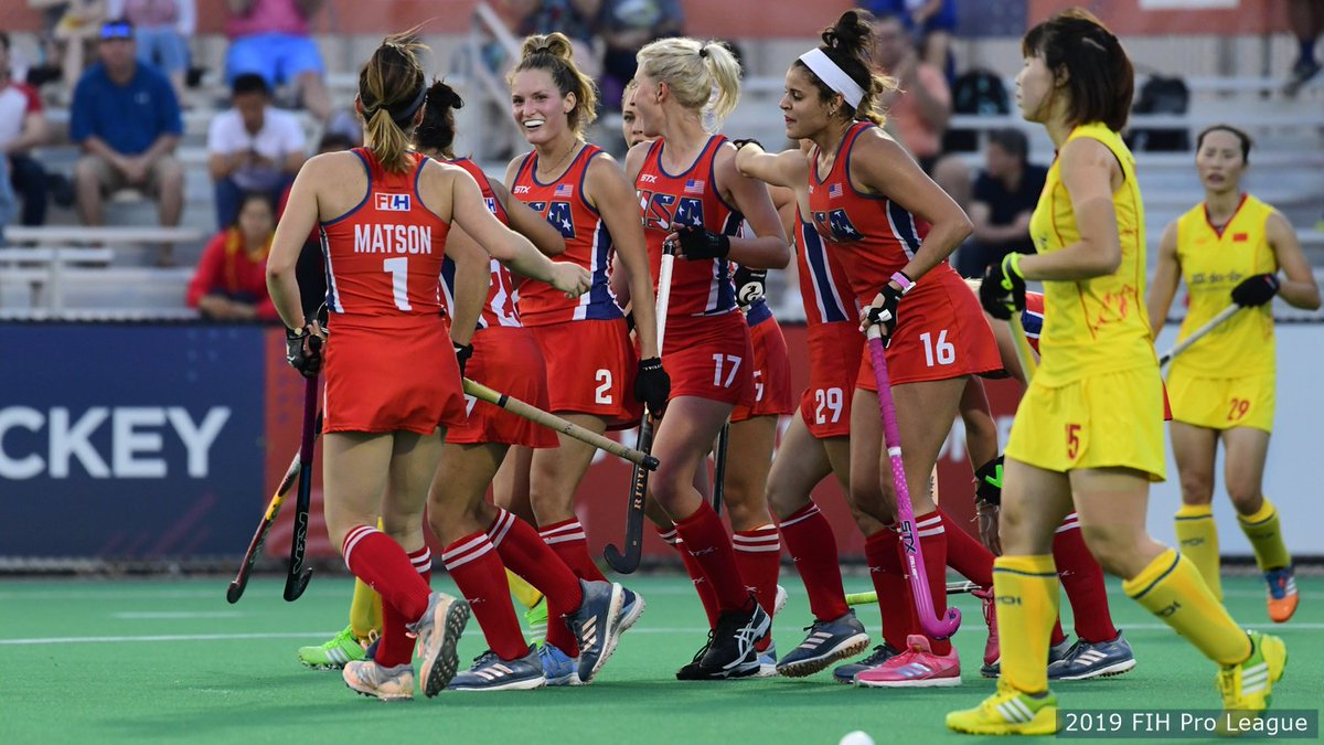✔️ Victory on home turf  BIG ups to @USAFieldHockey picking up its first regulation #FIHProLeague win tonight!  🇺🇸 3, 🇨🇳 1 | http://go.teamusa.org/2VSBYgp