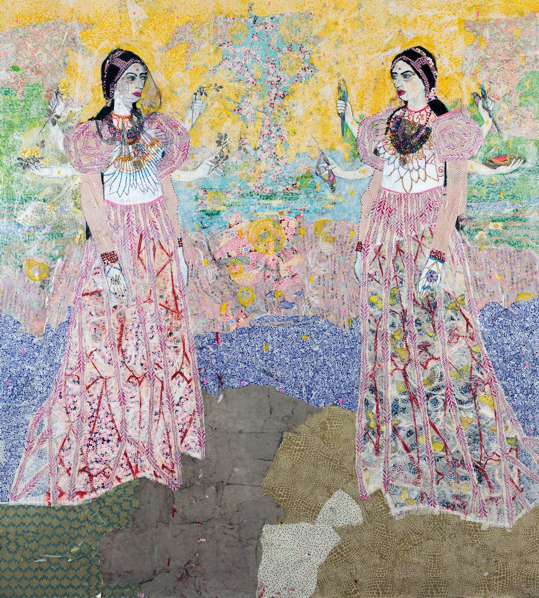Maria Berrio  Columbian Collage Artist based in NY