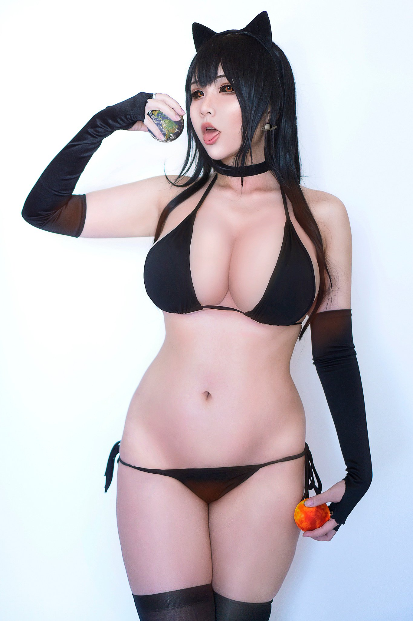 Hana Bunny Black Hole Chan Cosplay