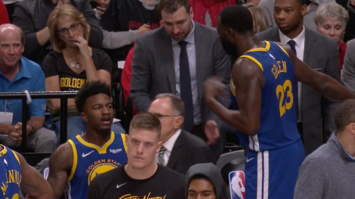 Dray made sure the Warriors stayed confident during 2nd half run to win Game 3 (mic'd up)