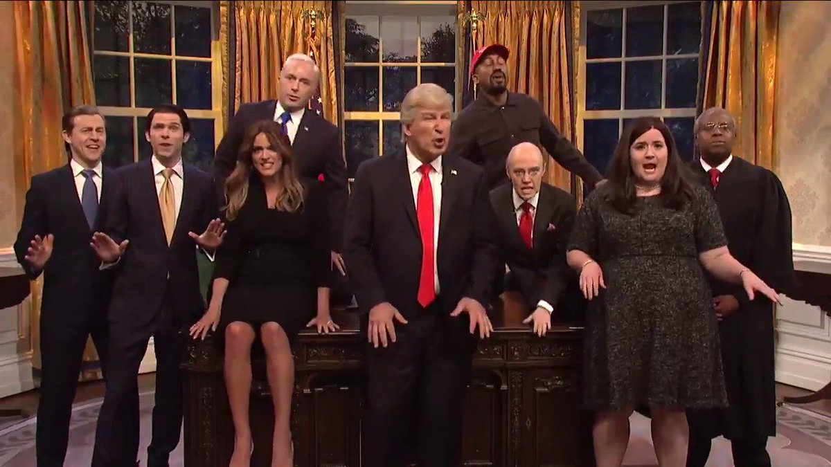 'Saturday Night Live' ends season with Queen song for Trump'