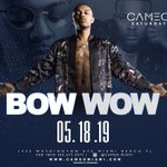 Image for the Tweet beginning: Tonight Miami! Bow wow and