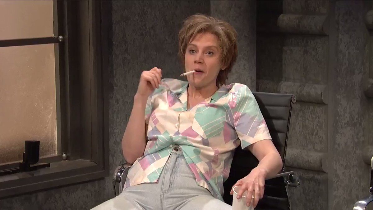 'SNL' Brought Kate McKinnon's Ms. Rafferty Back To Talk About Mating With An Alien Lady
