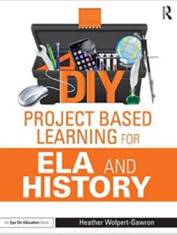 DIY for PBL in ELA & History,now available! Full units + mix & match lessons for PBL design! tandf.net/books/details/… #pblchat