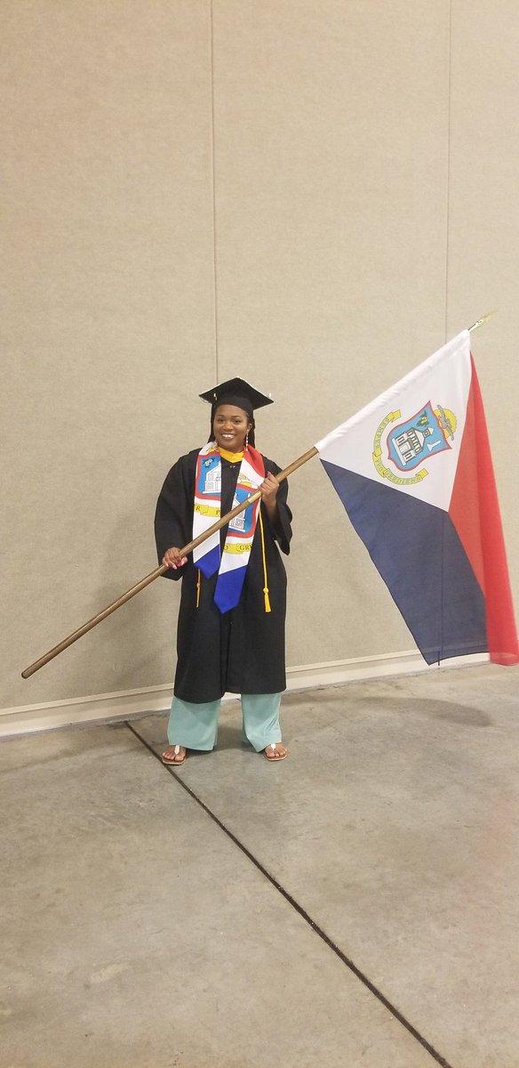 @wimatchapp graduation szn Caribbean Queen 🇸🇽🇸🇽
