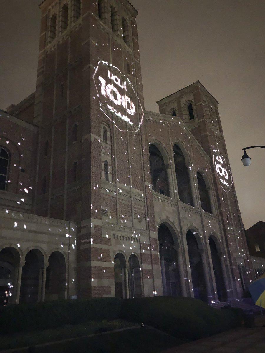 #UCLA100 The centennial year has begun!