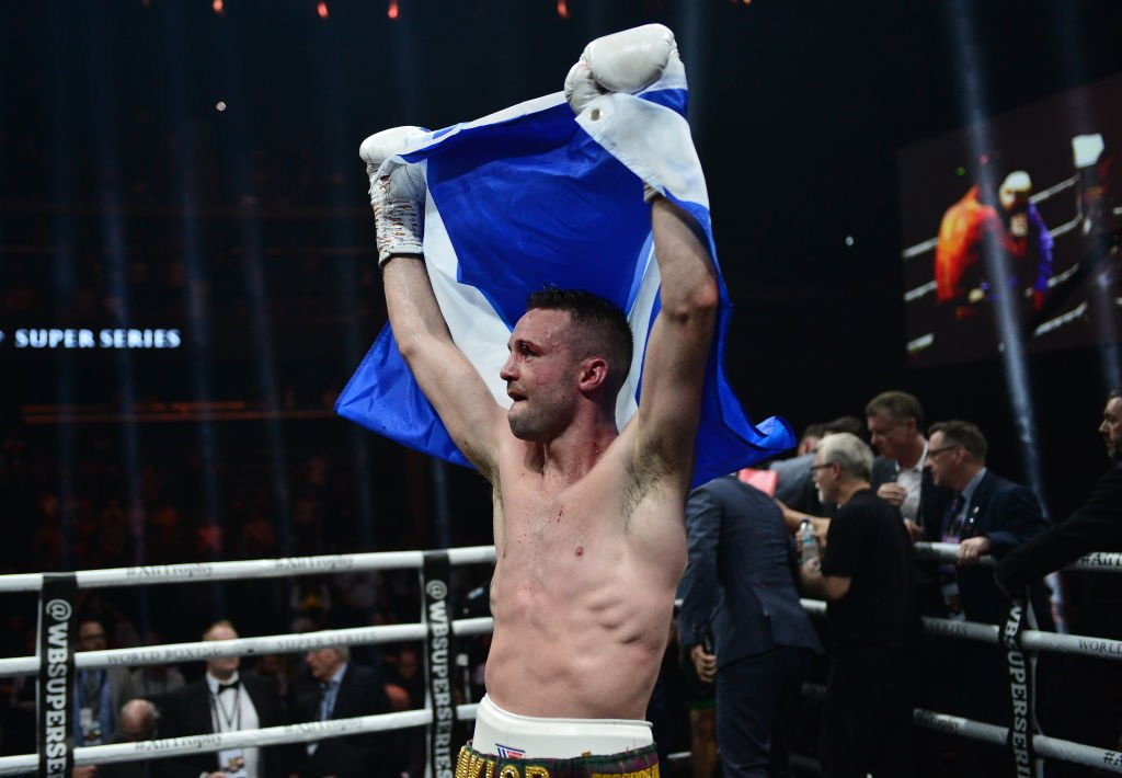 """""""Easy peasy,""""Josh Taylor won his first world title with a points victory over Ivan Baranchyk in their IBF super-lightweight bout.Report https://bbc.in/30qCaSp#bbcboxing"""