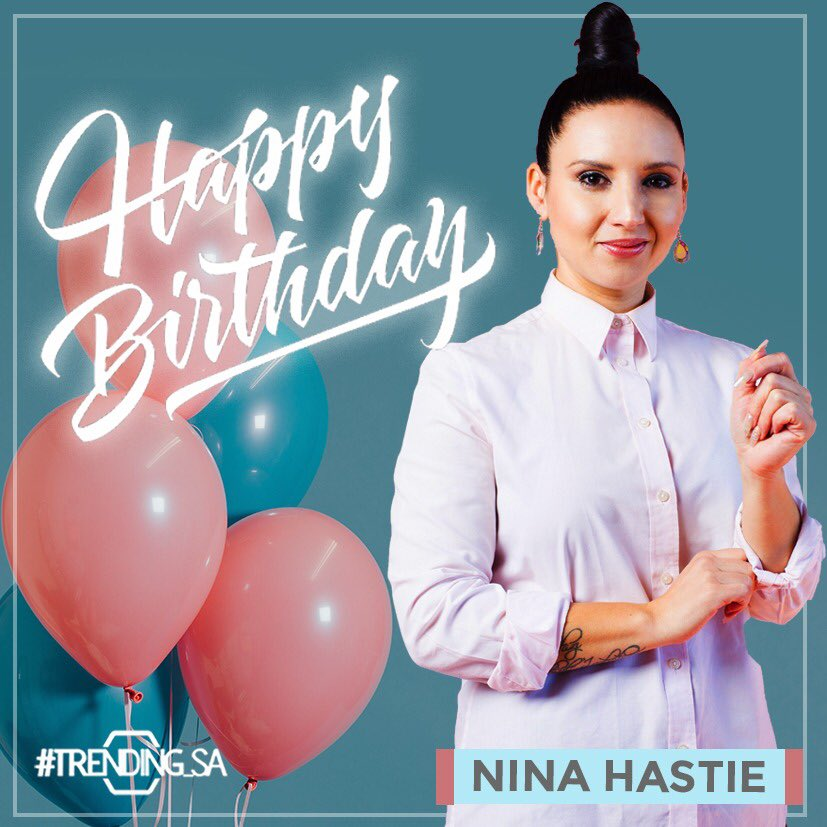 Happy birthday to our very own, the gorgeous and most hilarious @THATninahastie ❤️💃🏽🎁🎉🎊🎈🎂
