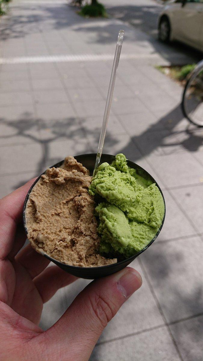静岡来たら必ず食べちゃう😋 新茶と和紅茶にしました♪和光茶ではございません❗(笑) #OMM #ななや