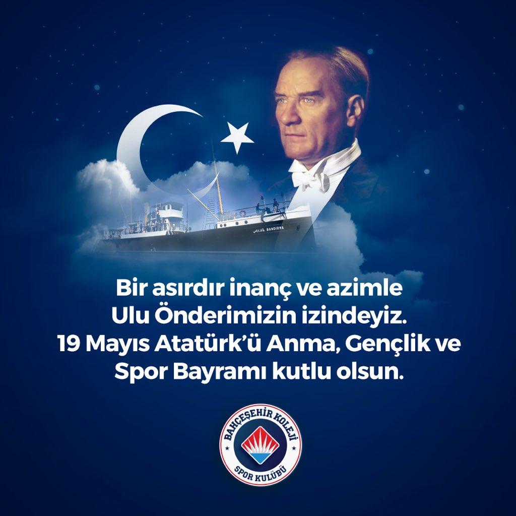 Kalbimizin en güzel yerindesin... Özlemle ve minnetle anıyoruz...  Türk gençliği olarak bayramımız kutlu olsun. 🇹🇷🇹🇷🇹🇷 #19MAYIS1919 #ATAMİZİNDEYİZ #Atatürk