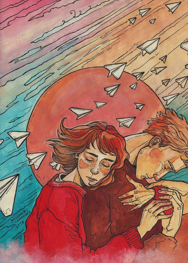 Открытки харитоновой саши, воздушный поцелуй