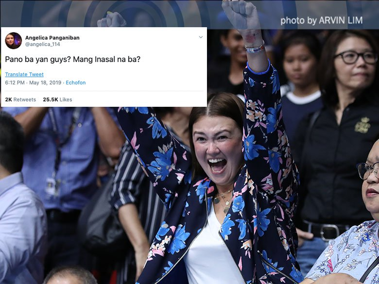 Angelica Panganiban to treat Ateneo fans with unli-rice after title? bit.ly/2YAiBVZ