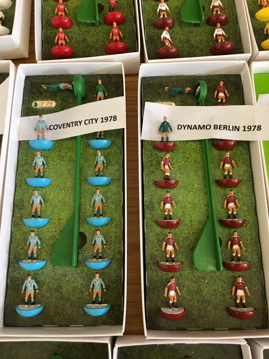 A labour of love this Sunday morning. Working on a story about a Subbuteo fair.
