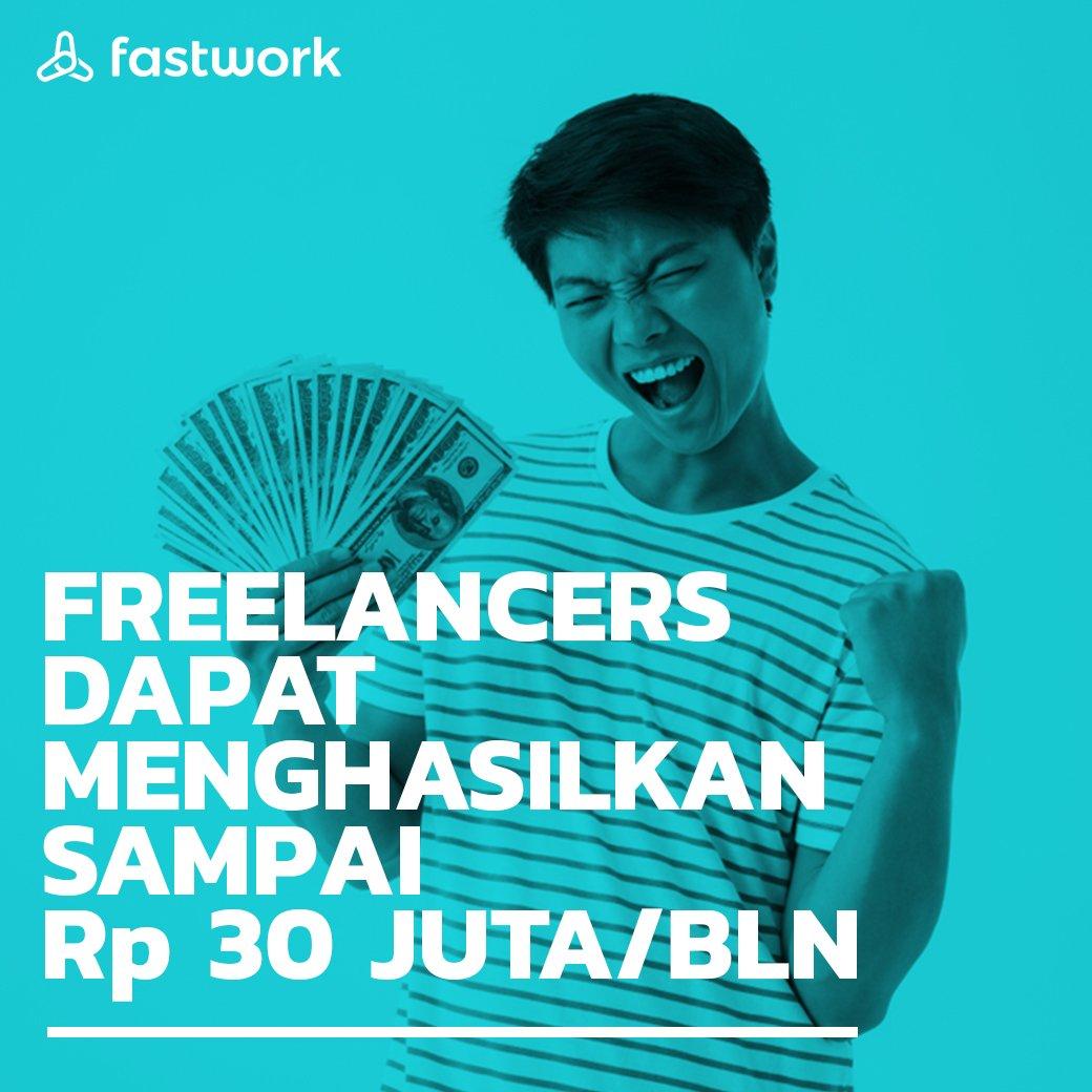 Fastwork memberikan kebebasan bagi Freelancer untuk menawarkan pekerjaan sesuai dengan keahlian masing-masing. Mulai bekerja dan dapatkan penghasilan sebanyak-banyaknya tanpa batas. #Fastwork Indonesia #cepetgaribet #Fastwork https://t.co/W2aPBnhX30