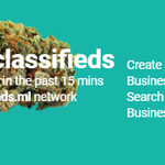 Image for the Tweet beginning:  New #cannabis #adverts on
