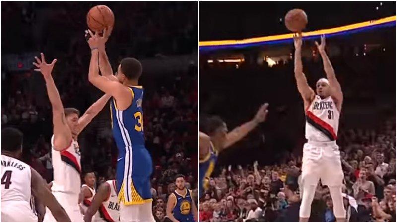 【影片】今日五佳球:Curry兩兄弟齊上榜,K湯快速回防送Turner追身大火鍋!