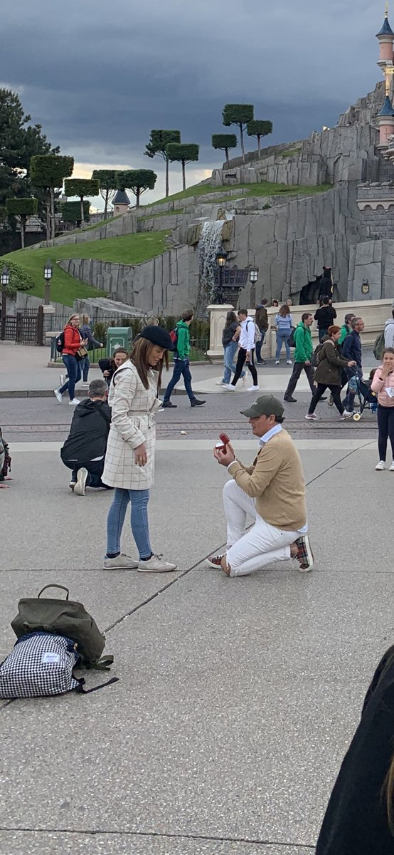 We were taken pictures from us and the castle of disneyland and without knowing , we also took pictures of a proposal. Maybe we can reach these people so they get these pictures? – at Disneyland Paris