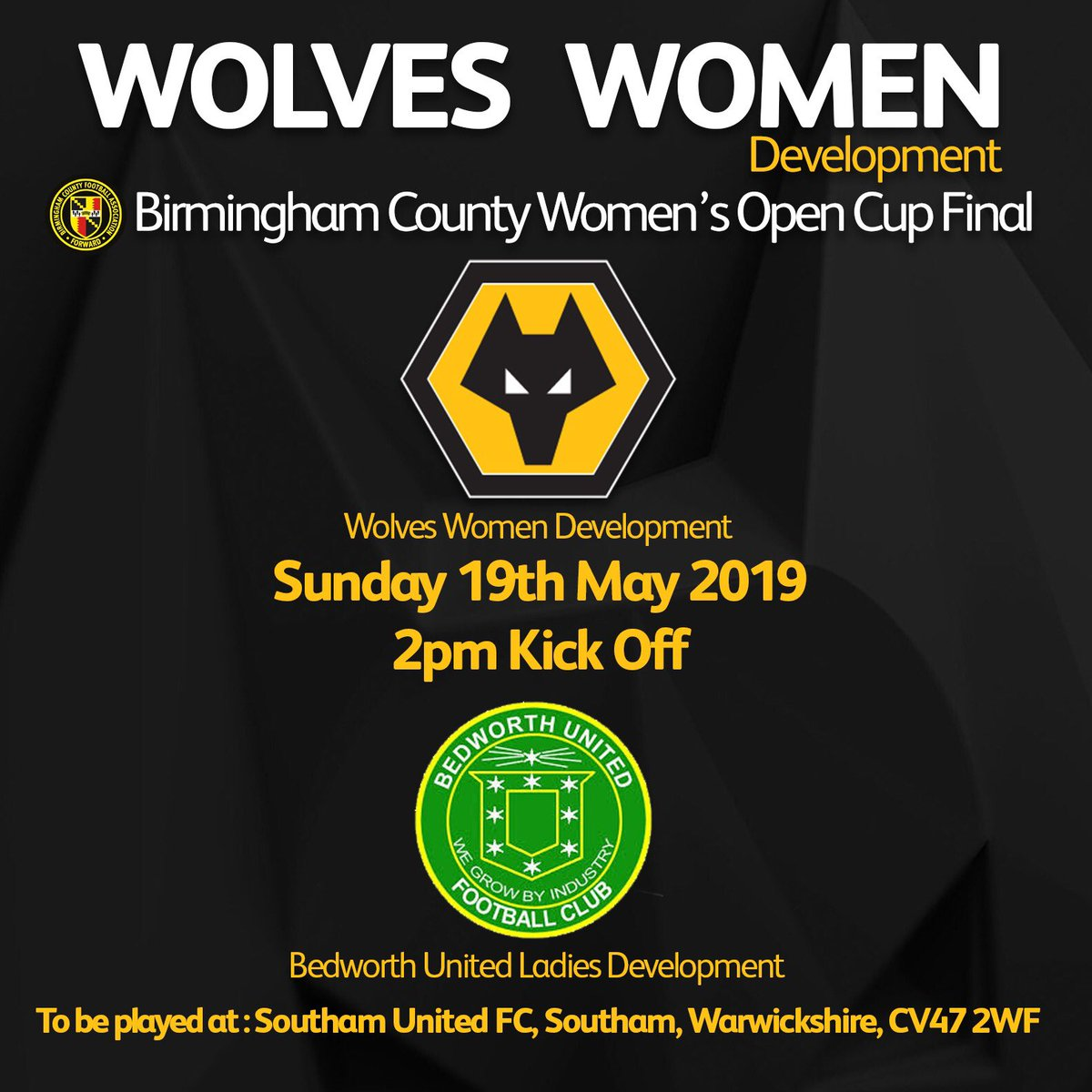 Wolves Women FC's photo on MATCH DAY