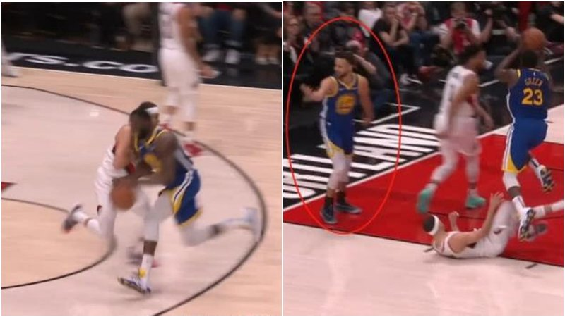 【影片】賽場上就是如此殘酷!小Curry被追夢綠撞飛,哥哥第一時間作出這樣的舉動!