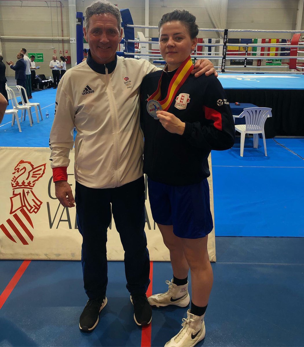 WINNER!! Congratulations to Derby boxer  @sandyryan93 who has won gold at her first tournament of 2019 in Valencia. Beating France in the final... #bbcboxing