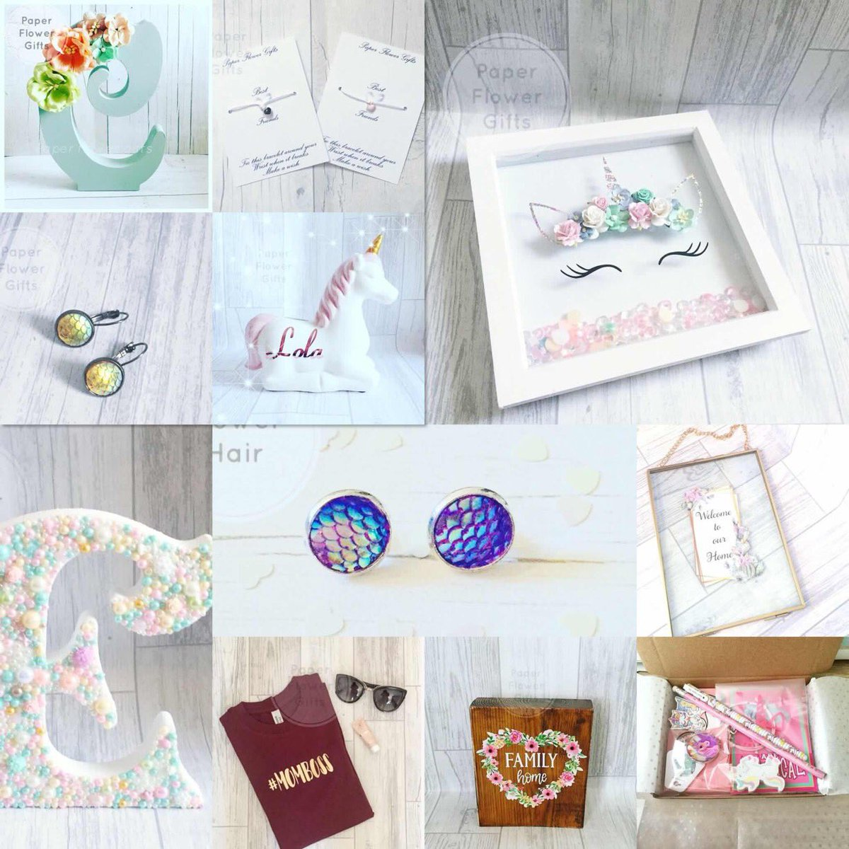 Good morning #UKGiftHour we are having a day off today a garden needs some love  check out our selection on gifts/home accessories #etsy #gifts  https://www. etsy.com/uk/shop/Paperf lowergiftsShop &nbsp; … <br>http://pic.twitter.com/QibJ9yJWYJ