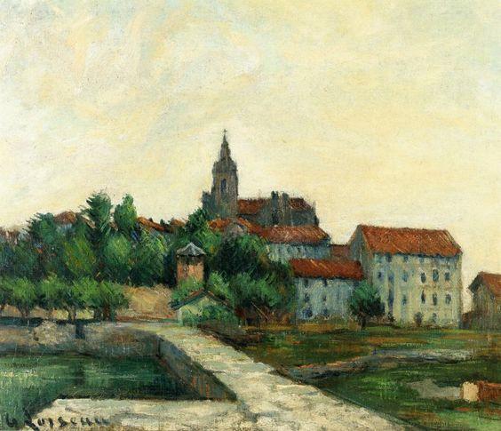 Landscape | Gustave Loiseau | <br>http://pic.twitter.com/oi7fyOe0SO