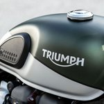 Image for the Tweet beginning: The British motorcycle company Triumph