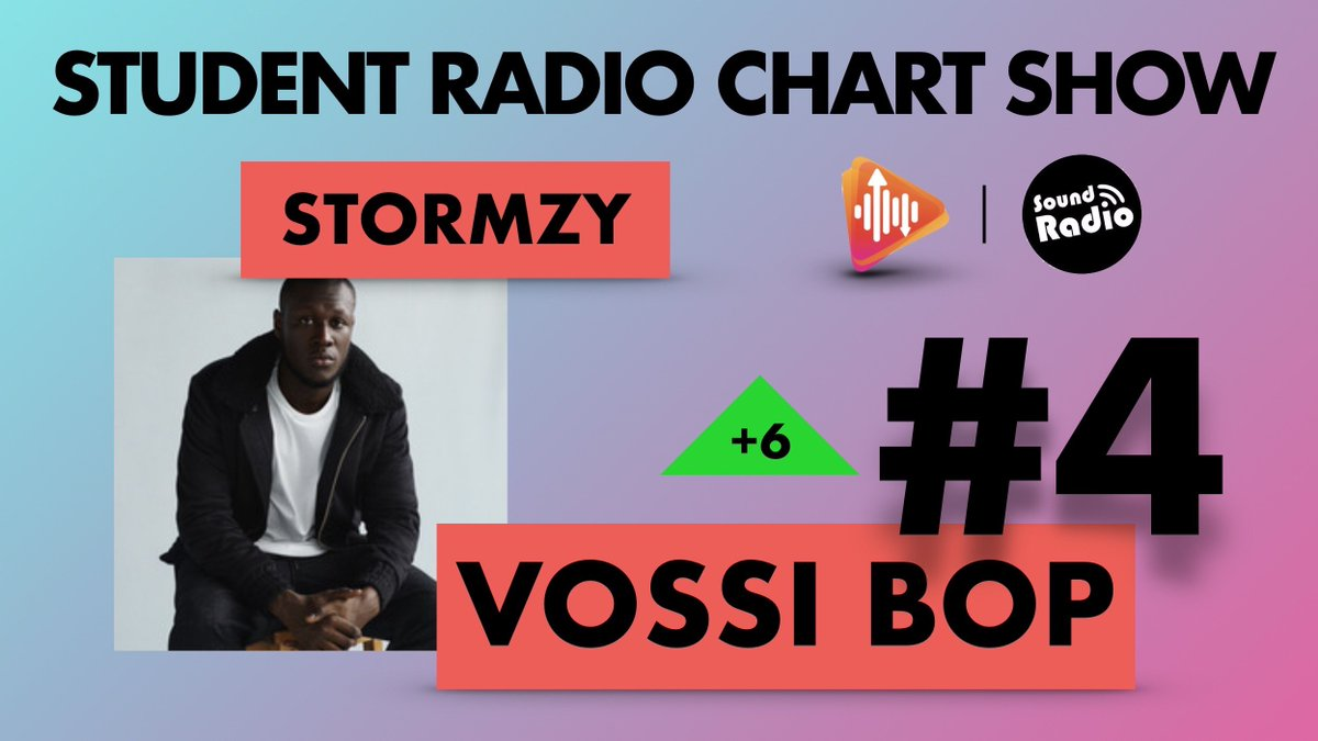 With his first release as a lead artist since 2011 - @stormzy with 'Vossi Bop' is up 6 on the charts at number 4 💥🔥 #SRAChart