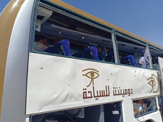 ⭕️ BREAKING: Egypt explosion: Tourist bus hit by blast outside museum near Giza Pyramids. At least 16 people were injured in the blast near the new Grand Egyptian Museum in Cairo on Sunday. ℹ️ independent.co.uk/news/world/afr… ℹ️ archaeologyin.org