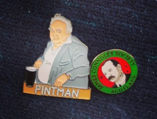 Look at this pintman badge! I am blessed.