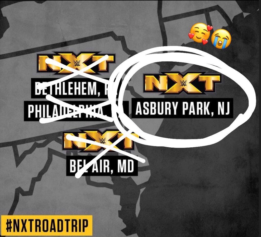 I'M COMING HOME! #NXTAsburyPark TONIGHT!! 🤗