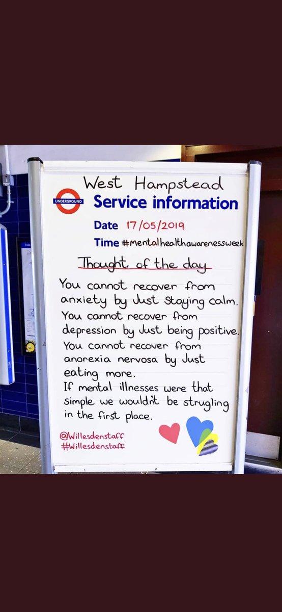 Fair play West Hampstead station 🌈
