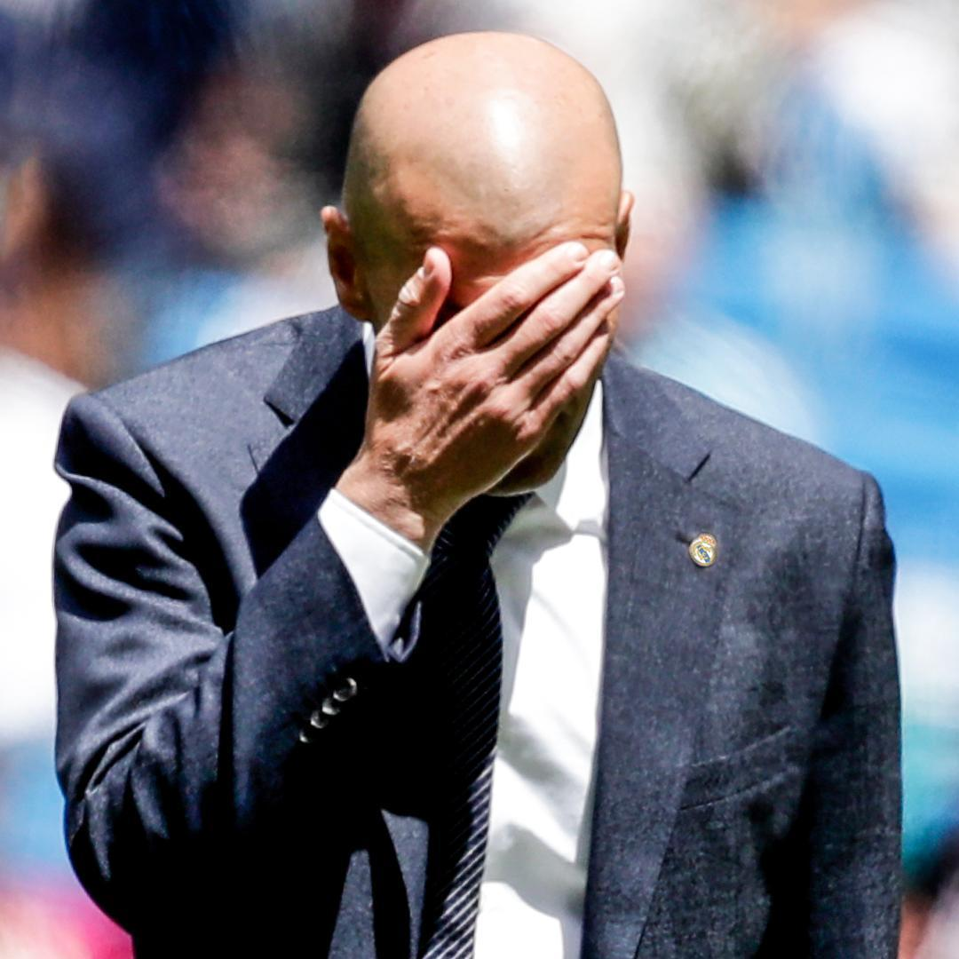 Real Madrid finish the season with 18 defeats in all competitions.  Their most since 1995-96 😳