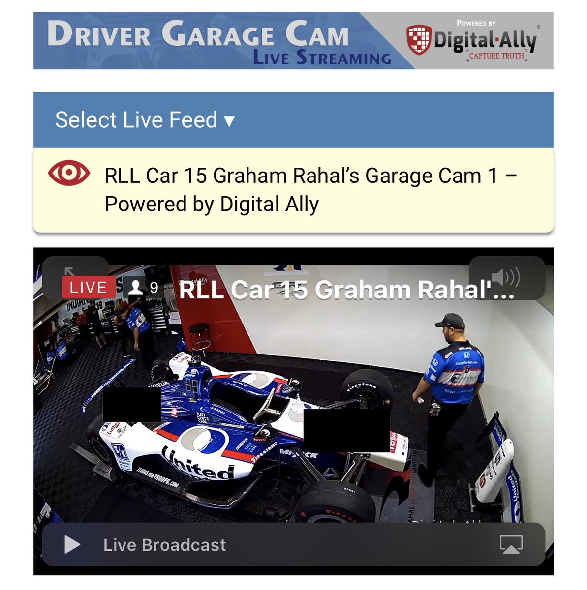 After an intense day yesterday, our team is now able to switch focus to preparing the race cars for the biggest race of the year. Watch from the first ever LIVE team garage camera via @DigitalAllyInc on our website. MORE: tinyurl.com/y5669es5 #indy500 | @IMS