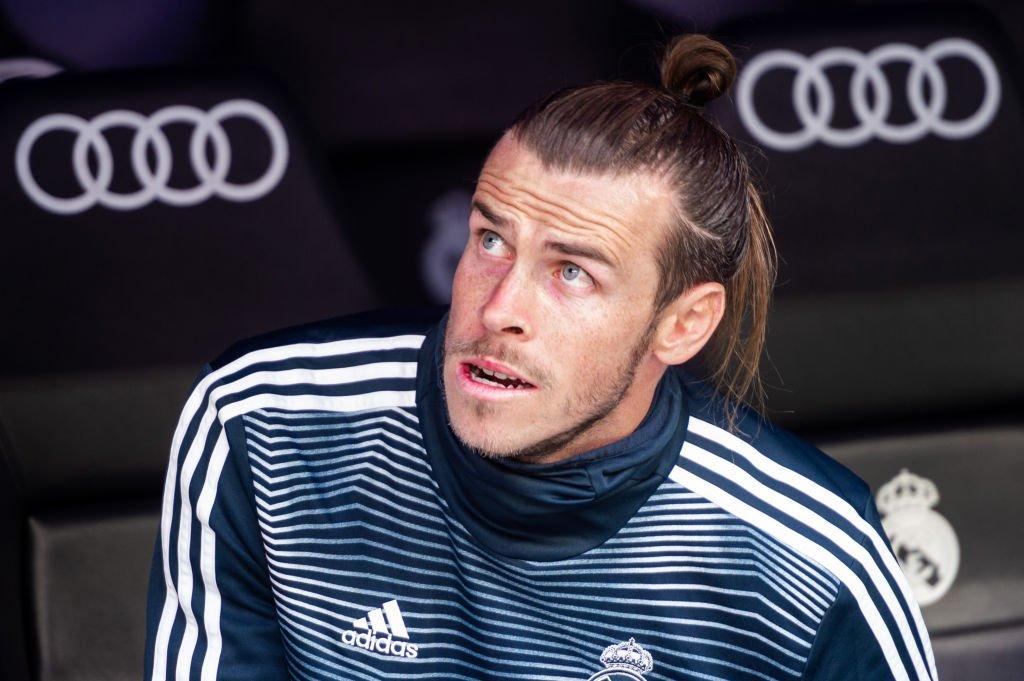 Bale en el banquillo ante el Real Betis.