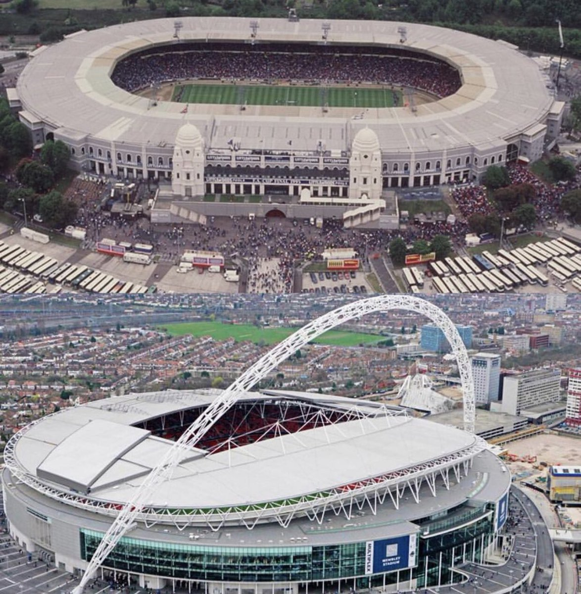 Retweet if you've see your team play at #Wembley