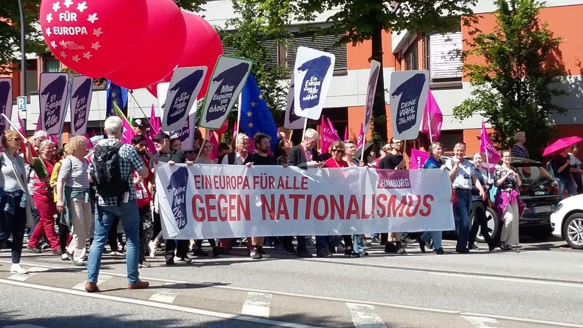 test Twitter Media - DANKE #Hamburg! 15.000 Menschen demonstrieren für ein buntes Europa! #1EuropaFürAlle #VoteForClimate https://t.co/THXXYQ5QBN