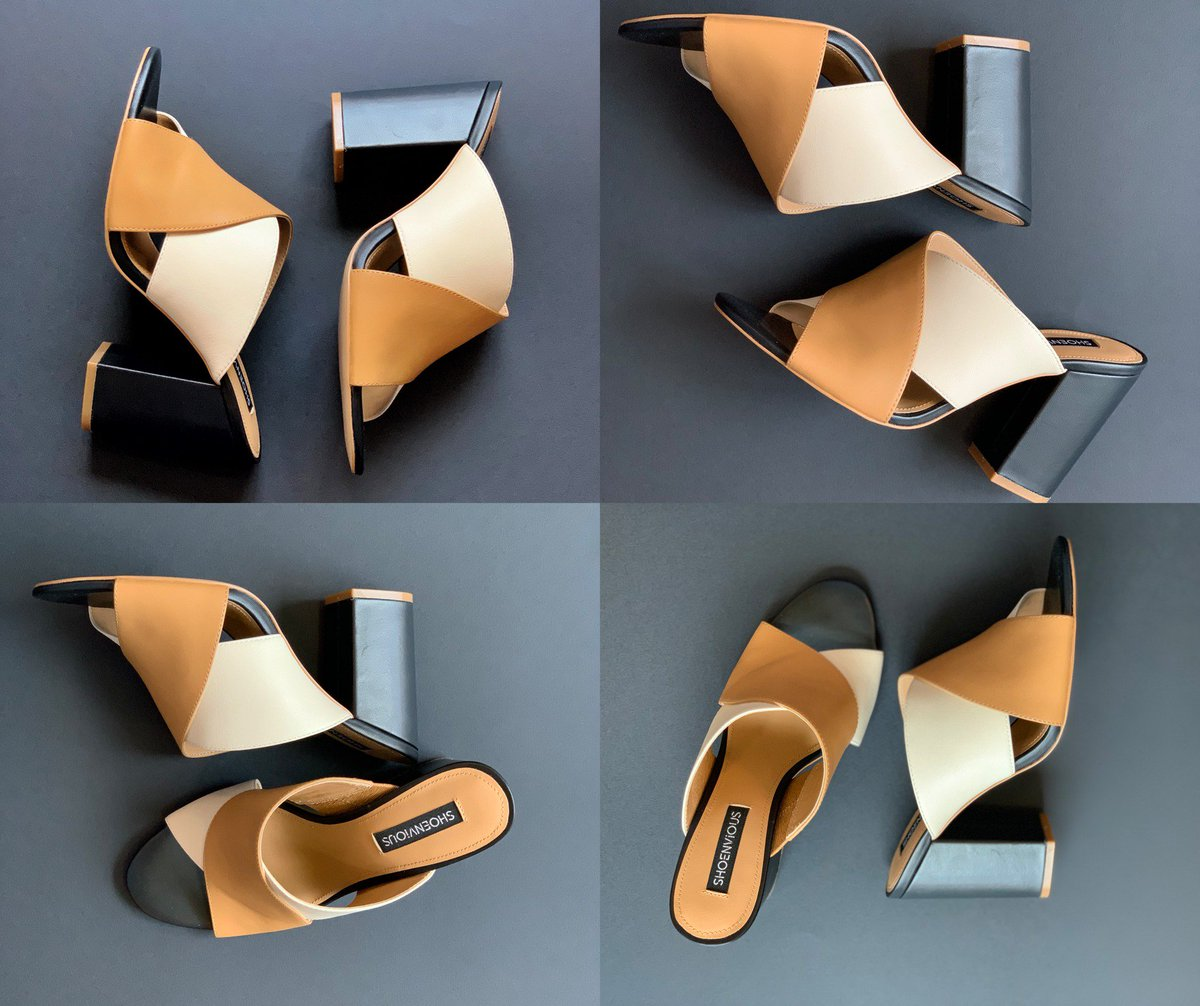 Your hunt for the perfect summer shoe ends here. This practical yet stylish neutral-colored block heels will carry you through the summer season and beyond.   Design your dream shoe now: https://t.co/p1J2UzHGSV https://t.co/Cw52HWHXGS