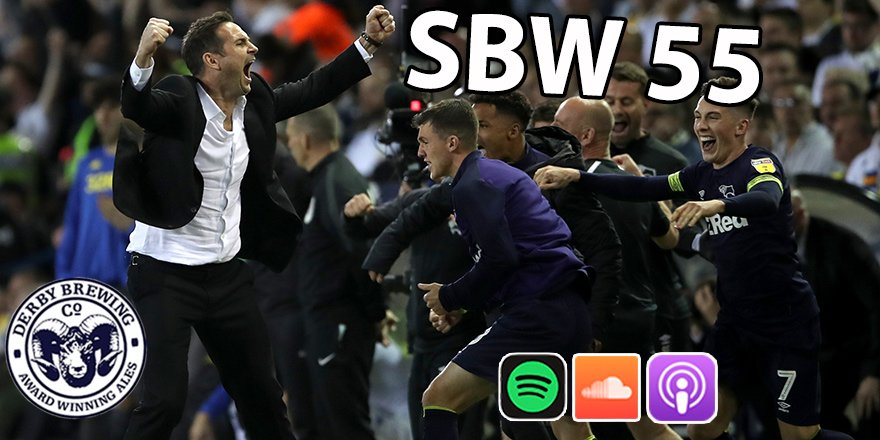 Celebrate *that* Leeds win and preview Wembley with our extended #dcfc podcast. All talking points covered as we hail Franks magnificent, magical Rams. Listen below! 🎧 iTunes: apple.co/2LTYCQD 🎧 Spotify: spoti.fi/2BFzVQD 🎧 Soundcloud: bit.ly/2Js6qY4
