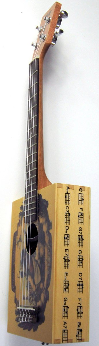 Bugs gear Cigar box Ukulele