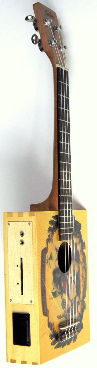 bugsgear Cigar box Tenor Ukulele